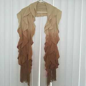 Betsy Johnson Ombre Scarf New with Tags